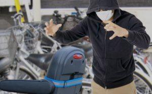 盗難防止装置が標準装備